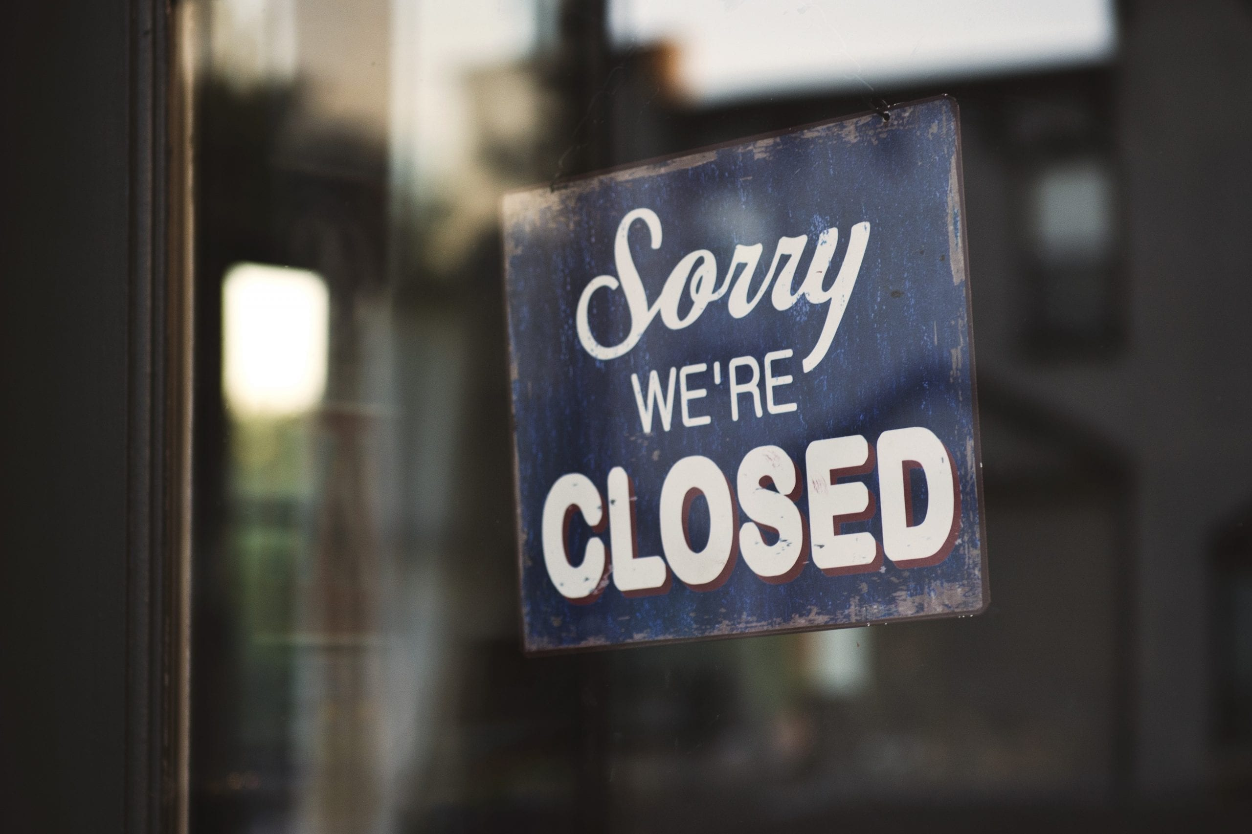 dissolved, closed for business